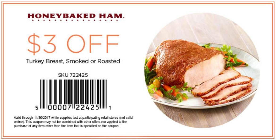 image regarding Honey Baked Ham Coupon Printable known as Honeybaked Ham Retail store Turkey Identical Key phrases Guidelines