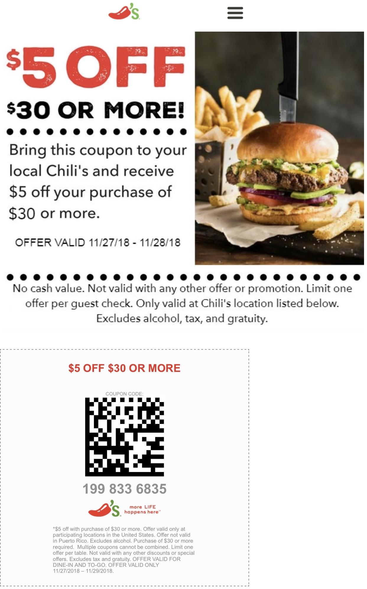 chilis printable coupons november
