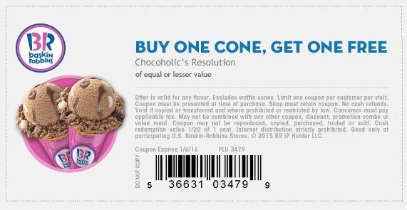 image regarding Ice Cream Coupons Printable named Baskin Robbins Discount codes -