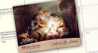 Free 2016 Catholic Art Calendar