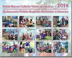 Free 2016 Polish Roman Catholic Union Of America Calendar