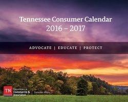 (3) Free 2016 Calendars (Tennessee Consumer Calendar & More)