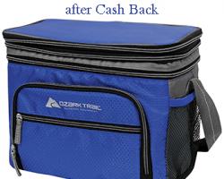 FREE Ozark Trail 12-Can Cooler after Cash Back