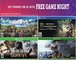 Redbox: Free One Night Video Game Rental