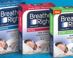 Free Breathe Right Advanced Strips Sample