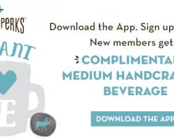 Caribou Coffee – Medium Handcrafted Beverage
