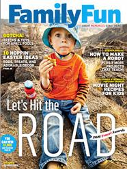 Free Subscription to FamilyFun Magazine