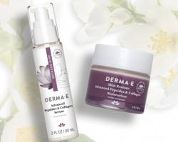 Free Derma-E DMAE Peptides and Collagen Serum + Moisturizer