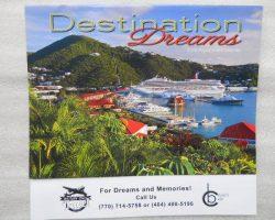2 Free 2016 Calendars (Ecoline Wall Calendar & Destination Dreams)