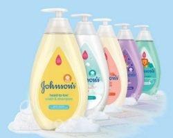 Free Samples Of Johnson's Baby Wash & Shampoo