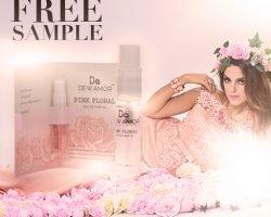 Free Dewamor Pink Floral Fragrance