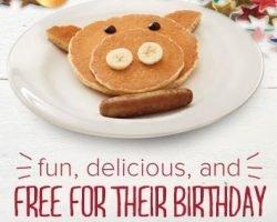 Bob Evans – Free Kids Birthday Meal