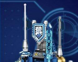 Free Mini LEGO Nexo Knights Shield Dock – Toys R Us