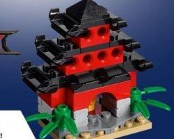 Toys R Us Event – Free Lego Ninjago Temple