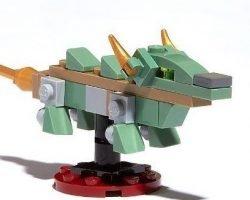 Free Lego Ninjago Green Dragon Mini Model At B&N