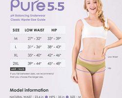 Free Pure 5.5 pH Balancing Underwear