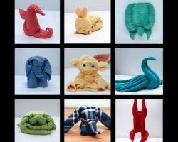 Create Cool Stuff With Bath Towels & Napkins