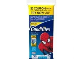 Free GoodNites Training Pants (Boys & Girls)