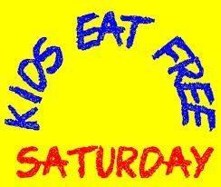 Where Kids Eat Free On Saturdays