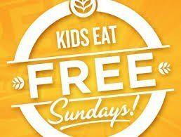 Where Kids Eat Free On Sundays