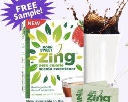 Free Zing Zero Calorie Sweetener